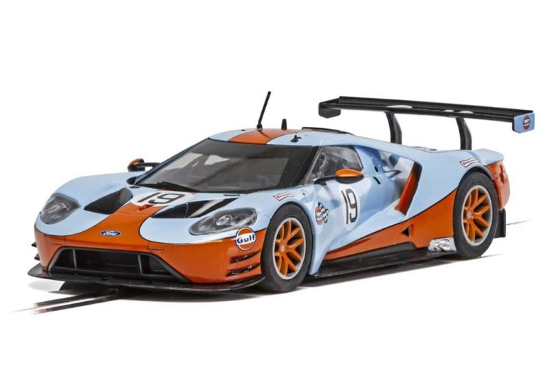 Scalextric Ford GT GTE No.19 Gulf Edition - C4034