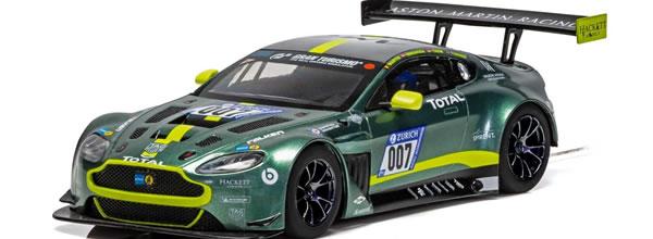 Scalextric : l'Aston Martin GT3 #007, Nurburgring 24hrs 2018 – C4036