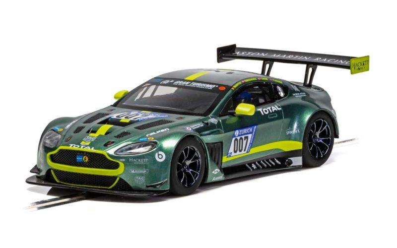 Scalextric : l'Aston Martin GT3 #007, Nurburgring 24hrs 2018 - C4036