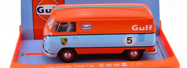 Scalextric: les photos du combi Volkswagen Gulf C4060.