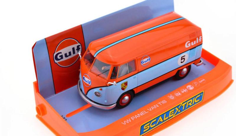 Scalextric : les photos du combi Volkswagen Gulf C4060