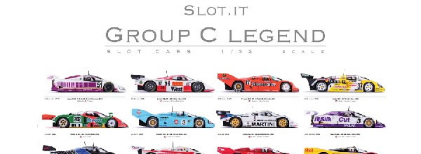 Slot.it: Poster Group C Legend PGRC-2