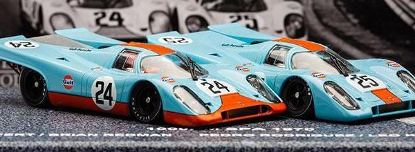 Slotwings le coffret Porsche 917k - Spa de 1000 km 1970 édition limitée