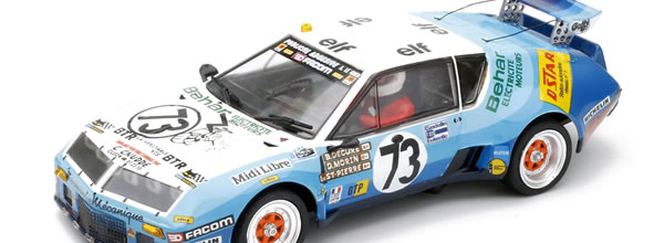 Team slot : l'Alpine Renault A310 V6 GTP LE MANS 1978 – TS-12802