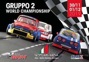 Championnat du Monde Gr2 BRM slot cars