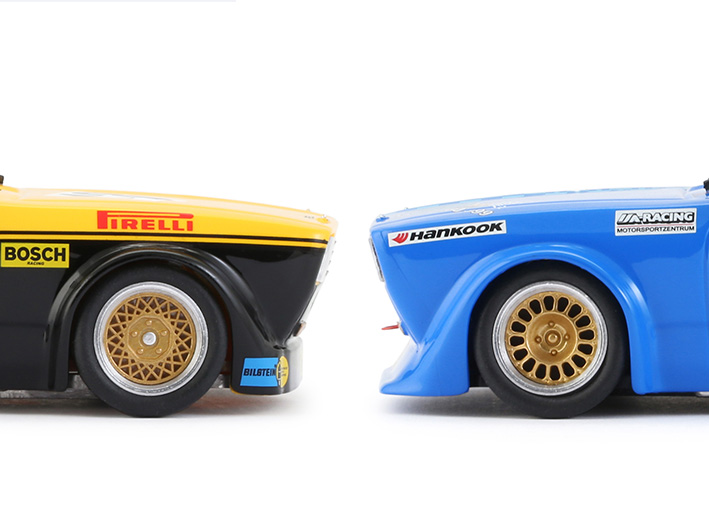 BRM Opel Kadett - spoilers avant différents