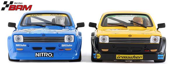 BRM: les deux Opel Kadett GT/E arrivent