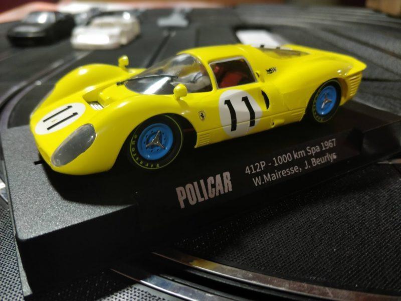 Policar : la Ferrari 412P #11 – 1000Km Spa 1967 – CAR06b