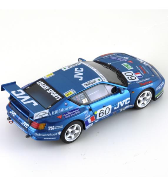 Le Mans miniatures: l'Alpine A610 #60 24h du Mans 1994