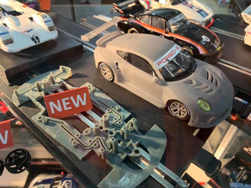 Le prototype de la nouvelle Porsche 991 RSR à l'échelle 1/32