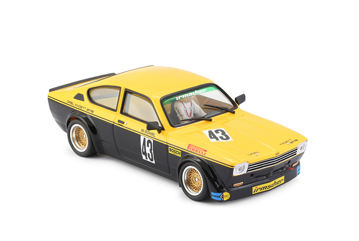 Opel Kadett GT-E - BRM100 - N° 43 - Walter Rohrl - DRM 1976
