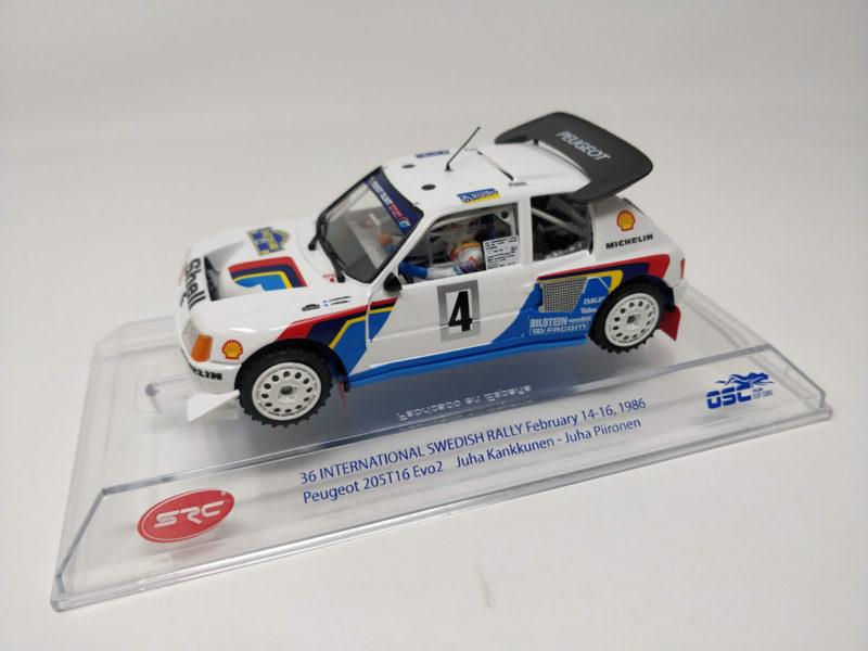 SRC - Peugeot 205 T16 EVO2 rallye de Suède 1986 (SRC03704)