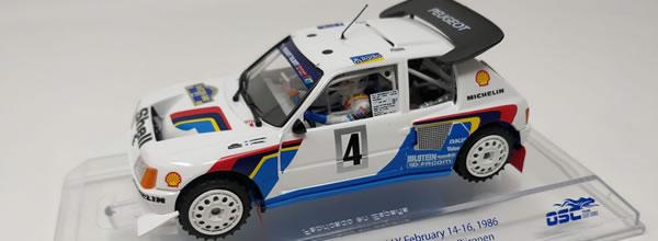 SRC: les photos de la Peugeot 205 T16 EVO2 rallye de Suède 1986 (SRC03704)