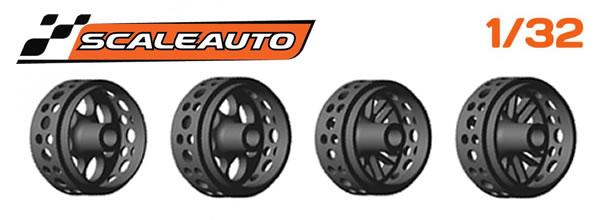 Scaleauto : Des jantes pour slot cars type Monza2 & BBS en impression 3D