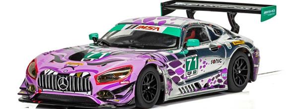 Scalextric:  La Mercedes AMG GT3 P1 Motorsports Daytona 2018 - C4044