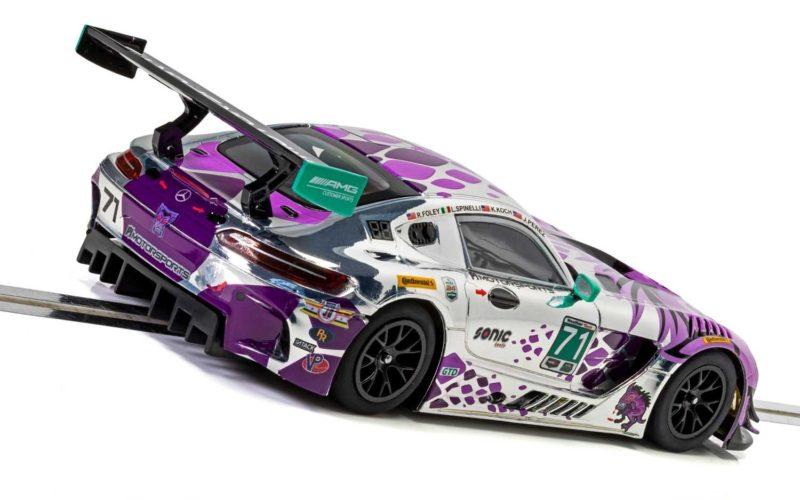 Scalextric  La Mercedes AMG GT3 P1 Motorsports Daytona 2018 - C4044