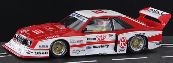 Sideways La Ford Mustang Turbo Bill Scott Racing DRM Norisring 1981 - SW66