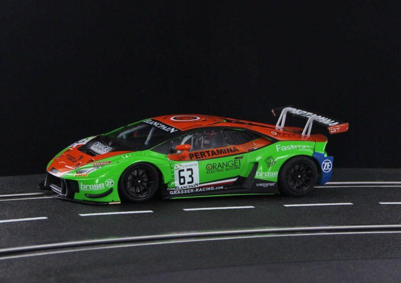 Sideways la LB H GT3 Grasser Racing Team Blancpain 2018