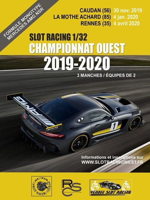 Slot Racing  le Championnat Ouest 20192020 est lancé