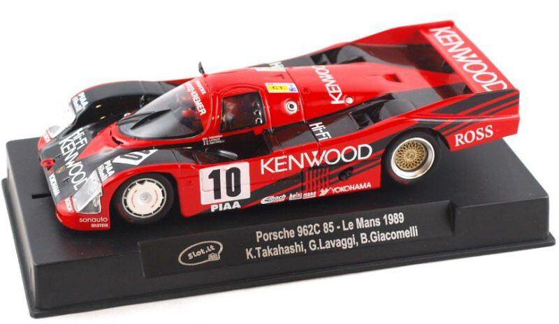 Slot.it Porsche 962C 85 No.10 Le Mans 1989 Ref - SICA34C