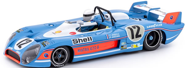Slot.it: la Matra-Simca MS 670B #12 Le Mans 1973 – CA37B