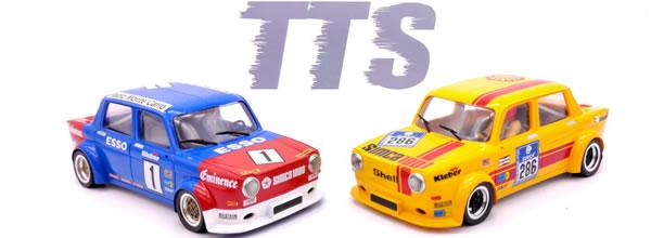 TTS: Deux Simca 1000 équipées d'un nouveau support moteur