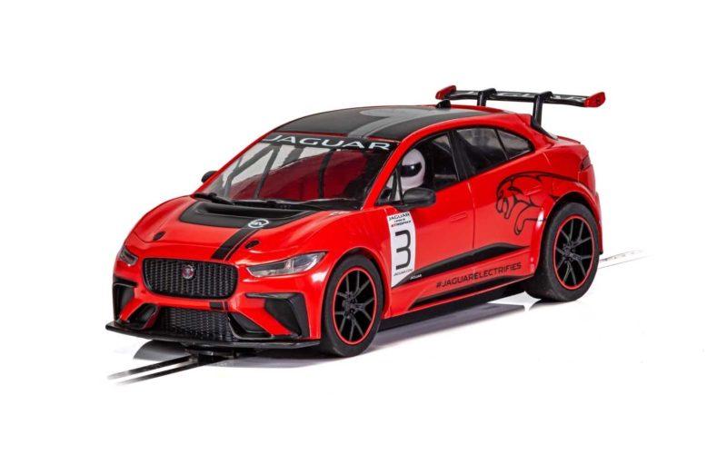 Scalextric - Jaguar I-Pace – Red - C4042