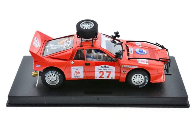 Fly Slot: la Lancia 037 Safari Rally 1985