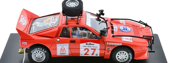 Fly Slot: la Lancia 037 Safari Rally 1985