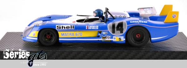 Le Mans miniatures: La Matra Simca MS670 #14 – Le Mans 73