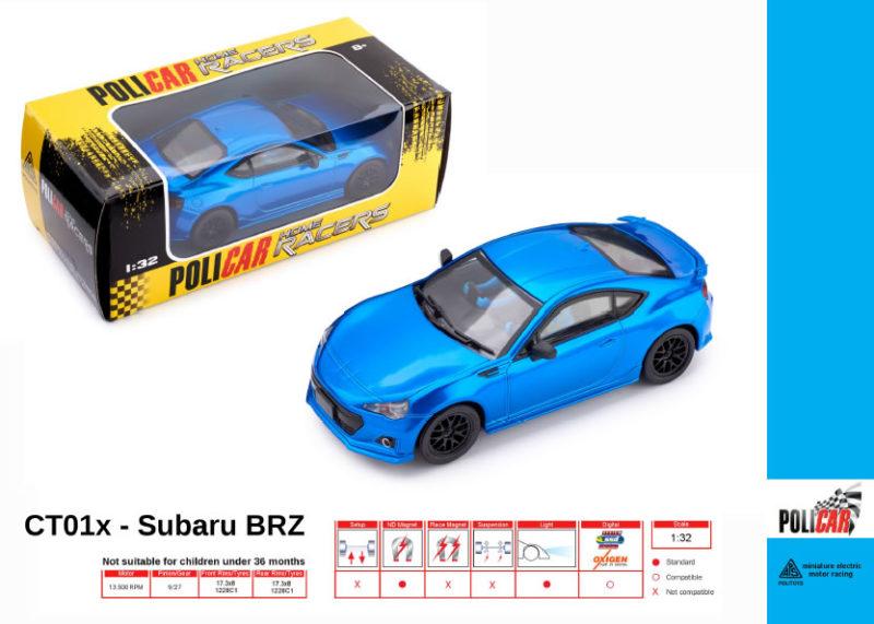 Policar - Subaru BRZ Bleu - CT01x