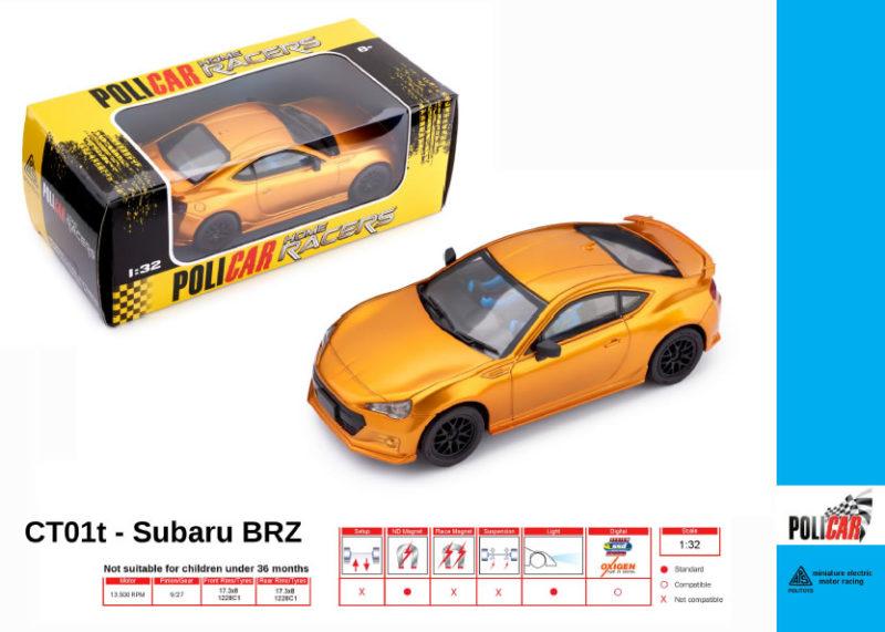 Policar - Subaru BRZ orange - CT01t