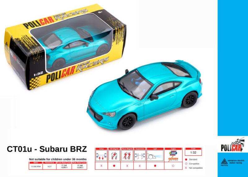 Policar - Subaru BRZ outremer - CT01u