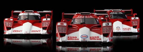 Revoslot: Les trois Toyota GT One Le Mans 99 approchent