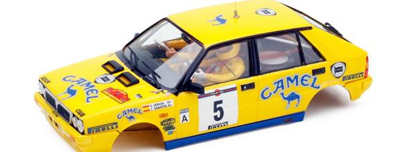 TEAM SLOT La Lancia Delta 4wd Rallye Catalunya-Costa Brava 1988