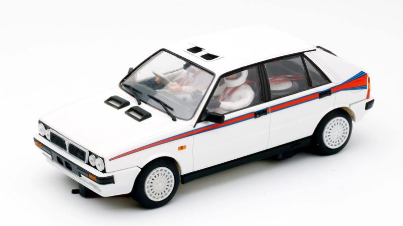 TEAM SLOT Lancia Delta 4wd test car