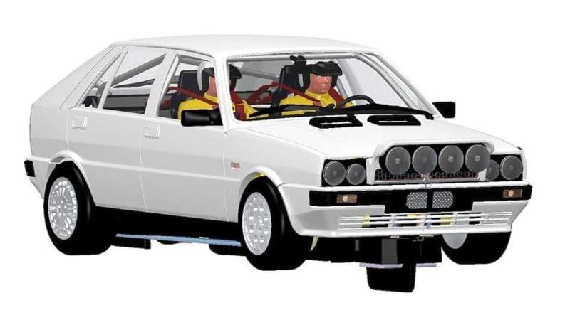 Team Slot: une Lancia Delta 4wd Groupe A arrive