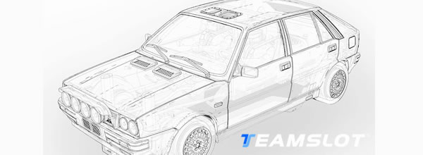 Team Slot: une Lancia Delta 4wd Groupe A arrive