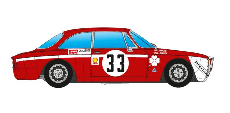 BRM105: ALFA GTA 1300 JUNIOR - 4H JARAMA 1972