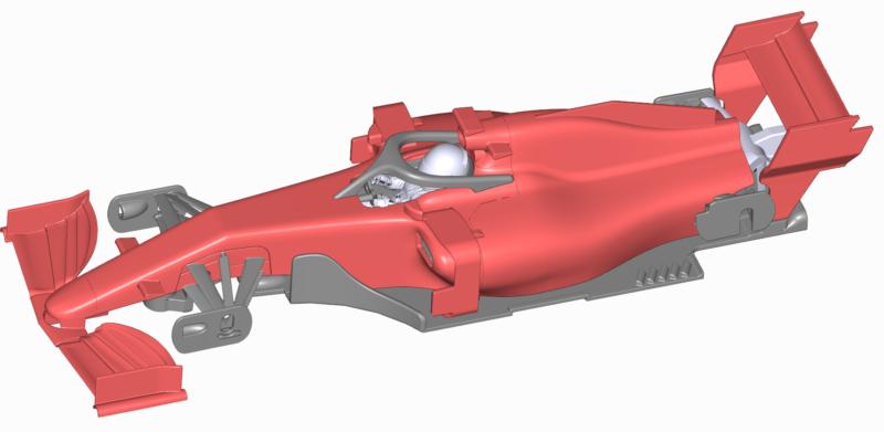 CAR07 - Generic Modern F1