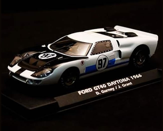 Ford GT40 / MKII Dan Gurney / Jerry Grant  #97 24h Daytona 1966. Reference A2021
