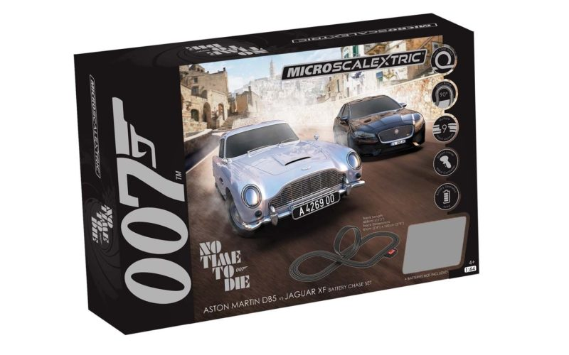 MICRO SCALEXTRIC JAMES BOND SET - NO TIME TO DIE - G1161