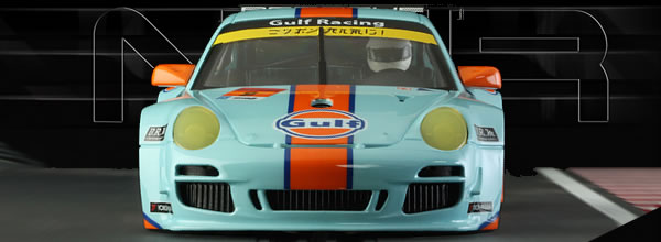 NSR Slot : PORSCHE 997 GULF LIMITED EDITION #9