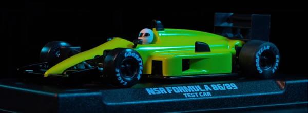 NSR Slot: les Formule 1 86/89 en vidéo