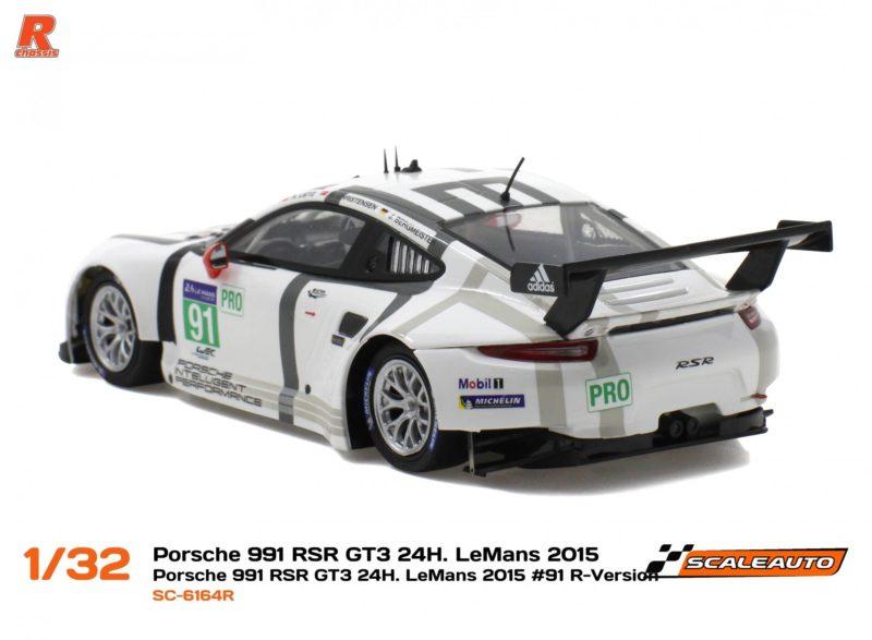Porsche 991 RSR GT3 - 24h le Mans 2015 #91