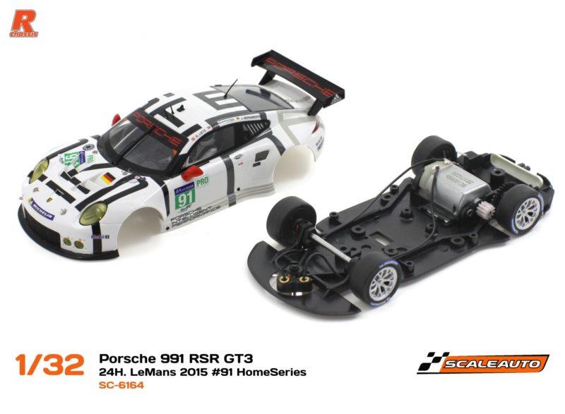 Porsche 991 RSR GT3 - 24h le Mans 2015 #91 Home Series