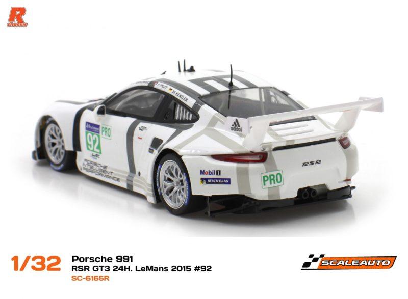 Porsche 991 RSR GT3 - 24h le Mans 2015 #92