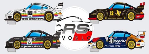 Révoslot : Quatre nouvelles décorations pour les Porsche 911 GT2