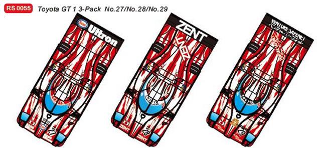 REVOSLOT RS0055 – Pack Toyota GT One – #27 #28 #29