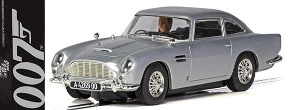 Scalextric: Aston Martin à l'honneur pour la sortie du nouveau James Bond